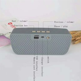 stereo usb sound card Australia - Good sales stereo BK009 wireless Bluetooth speaker supports TF card top sound speaker with nice sound