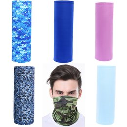 anti dust caps Australia - Ne0WT Bandana Cant Breathe I Face Cover Breathable Outdoor Anti Dust Scarf Cycling Mask Magic Scarf Protective Masks WithFilters
