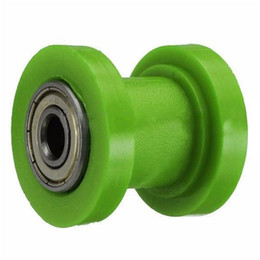 tensioner chain Australia - 8mm 10mm Pit Dirt Chain Guide Slider Roller Motorcycle Bike Tensioner Wheel Pulley