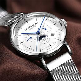 273b55efd6fc GUANQIN Relojes para hombre Top Brand Luxury Automático Reloj Mecánico  Hombres de Acero Completo Negocio 30ATM Relojes Deportivos Impermeables  2019 NUEVO