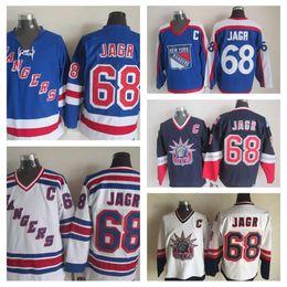 1998 Liberty Vintage  68 Jaromir Jagr Jerseys Mens 68 New York Rangers  Jaromir Jagr Hockey Jerseys Top Quality Stitched C Patch 027d734ec