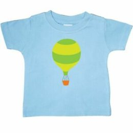 Cute Baby Tees Australia - Inktastic Hot Air Balloon Cute Baby T-Shirt Striped Ballooning Hobbies Kids Tees