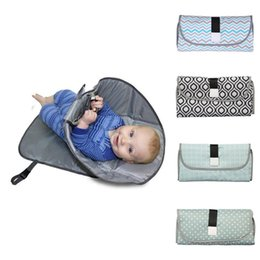 multi-function change diaper pad portable folding insulation pad Newborns Foldable Waterproof Baby Diaper Changing Mat outdoor on Sale
