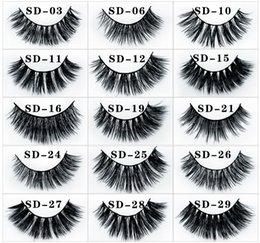 e421753db08 Mink False Eyelashes Wholesale Australia - Fake Eye Lashes 1Pair 3D Mink  Eyelashes Luxury Handmade Long