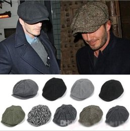 Wholesale new arrivals Adult Newsboy Caps Hat all match berets winter warm cap hat more colors