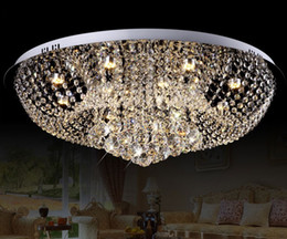 $enCountryForm.capitalKeyWord Australia - Diameter 400mm Crystal Ceiling Light Fixture  Lamp lustres Crystal Light fitting for Foyer   Hallyway  bedroom LLFA