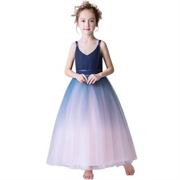 China 2019 New Flower Girls Dresses For Formal Girl Birthday Party Dress Princess Ball Gown Kids Vestido Plus Size supplier kids plus size dresses suppliers