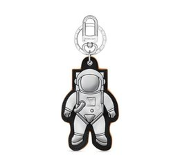 eva key UK - MP2212 SPACEMAN FIGURINE BAG AND KEYCHAIN key Holders and More Leather Bracelets Chromatic Bag Charm and Key Holder Scarves Belts