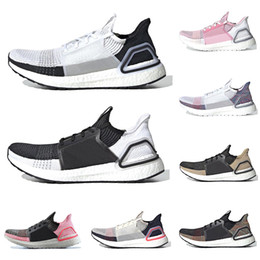 c3364c94657 2019 ultra boost ultraboost 19 running shoes for men women Oreo REFRACT  True Pink mens trainer breathable sports sneakers on sale