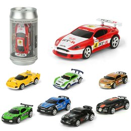 Coke Can Mini Speed RC Radio Remote Control Micro Racing Car Toy Gift FL Kinderfahrzeuge