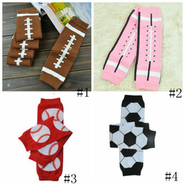 Infant tIghts sock online shopping - Baseball Socks Baby Football Basketball Soccer Leg Warmers Infant Legging Tights Leg Warmer Kids Long Socks GGA2692