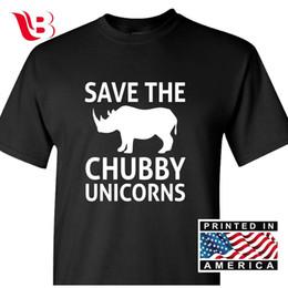 c2d64f5da Save the Chubby Unicorns Men's T-Shirt Funny Cotton Fun Tee Gift Novelty S  - 3XLFunny free shipping Unisex Casual Tshirt top