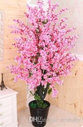 Plants Product Australia - Product detail Artificial tree+ flowerpot peach flower fake tree potted DIY