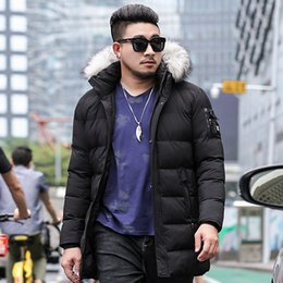 $enCountryForm.capitalKeyWord Australia - Medium Long Parkas Mens Hooded Jackets 2019 Winter Men's Cotton-Padded Coats Warm Windproof Overcoat Windbreakers Outerwear 1426
