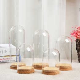 $enCountryForm.capitalKeyWord Australia - D8*15mm D8*18cm D10*12cm D10*15cm Large Glass Cloche Bell Jar Display Dome with Crok Creative Desk Glass Craft Bottl