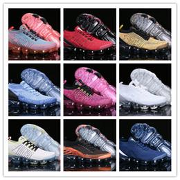 Tpu fooTball shoes online shopping - 2019 Hot Sale Mens Running Shoes Women Sneakers Knitting TPU Fashion Outdoor Casual Sport Shoes Hiking Jogging Walking Trainers US