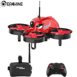 Toy Helicopter Wholesale Australia - Eachine E013 Micro FPV RC Racing Quadcopter With 5.8G 1000TVL 40CH Camera VR006 VR-006 3 Inch Goggles VR Headset Helicopter Toy