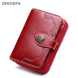 $enCountryForm.capitalKeyWord NZ - Sendefn New Small Wallet Casual Women's Purses And Wallets Split Leather Quality Short Women's Purse For Girls Money Bag 5147-68 Y19052302