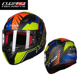 EcE ls2 hElmEt online shopping - Original LS2 FF353 alex barros full face motorcycle helmet ABS safe structure LS2 Rapid street racing helmets ECE approval
