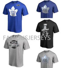 $enCountryForm.capitalKeyWord Australia - Toronto Maple Leafs Hockey 100th anniversary T-shirt Fans Tops Tees Hot-printed centennal classic mens sports wear