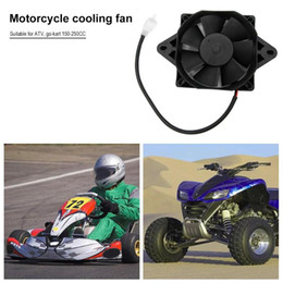 dirt bike quads atv NZ - Oil Cooler Water Cooler New Electric Radiator Cooling Fan For 200 250 cc Chinese ATV Quad Go Kart Buggy Dirt Bike Motorcycle