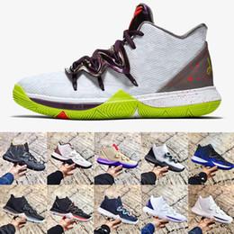 06bcb351084c Fashion Kyrie Shoes 5 Sports Sneakers Irving 5s Mens Basketball Shoes Mamba  Mentality X Rokit EP Oreo Duke BHM Ikhet Men Luxury Sneakers