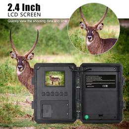 infrared lenses 2019 - 120 Wide Lens Waterproof Wildlife Trail Photo Trap Hunting Camera PIR Sensor Infrared Night VisionVideo Recorder Cameras