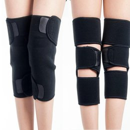443f136e5f Self Heating Kneepad Thermal Magnetic Therapy Black Knee Pad Fastening Tape  Support Heating Belt