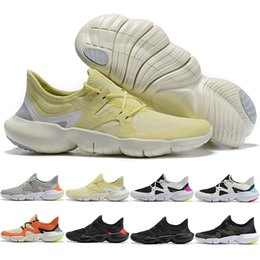 mens summer breathable shoes Australia - Discount Free RN 5.0 Mens Running Shoes Male Fashion Men Sports Sneakers Summer Cool Breathable RUN Women Lightweight Knit Shoes 36-45