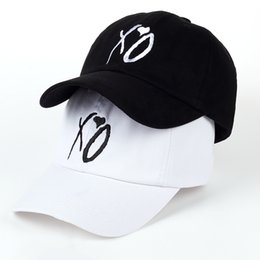 X.O Caps The Newest Dad Hat XO Baseball Cap Snapback Hats High Quality  Adjustable Design Women Men The Weeknd Starboy Hats d11af2c9cd1