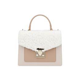 $enCountryForm.capitalKeyWord Australia - Genuine Leather Lamb Hair Beach Bag Woman Package New Design Pattern Fashion Oblique Satchel Single Shoulder Handbag Crossbody korean Style