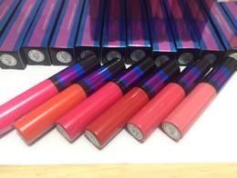 name brand lipstick wholesale 2019 - brand desinger m@c lipgloss makeup Retro Matte liquid lipstick   lip gloss 5ml with name 12 color xxp8 cheap name brand