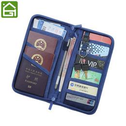 Storage Blocks Australia - RFID Blocking Passport Documents Storage Bag Travel Credit Card ID Card Cover Cash Organizer Holder with Hand