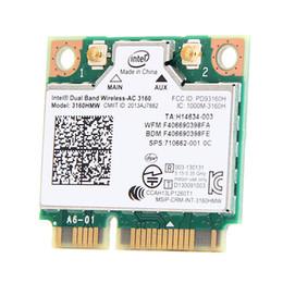 $enCountryForm.capitalKeyWord Australia - pci-e wifi Mini PCI-e Wifi Wireless bluetooth laptop card Dual Band 2.4ghz 5Ghz For Intel 3160 3160HMW 802.11ac Wireless AC + Bluetooth 4.0