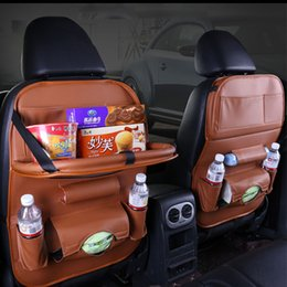 $enCountryForm.capitalKeyWord Australia - Back Seat Car Organizer Floding Table Bag Storage Kid Drink Eat Phone Pad Travel Stowing Tidying Boxes Pocket Auto Accessoires