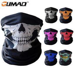 $enCountryForm.capitalKeyWord Australia - 3D Skull Seamless Magic Neck Gaiter Face Mask Cover Shield Cycling Hiking Tactical Paintball Bandana Headband Scarf Men Women