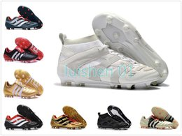 Beckham Boots Australia - Soccer Mens Turf Cleats Indoor Soccer Shoes Crampons De Football Boots Predator Mania Precision Accelerator Db David Beckham Fg Tf Ic A009