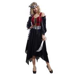 pirates caribbean movie costumes Australia - christmas cosplay anime halloween costumes for women pirat pirate woman sexy adult Party caribbean carnival costume fancy dress