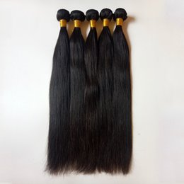 Discount cheap 16 inch human hair weave Unprocessed Brazilian Peruvian Virgin Hair Weaves full and thick healthy end best quality Cheap 8-28inch Indian Remy Hum