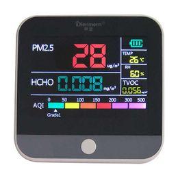 $enCountryForm.capitalKeyWord Australia - FreeshippingDigital Air Quality Monitor Hcho Pm2.5 Detector Tester Gas Monitor Gas Analyzer Temperature Humidity Meter Diagnostic Tool