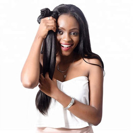 smooth soft hair UK - VIYA 9A Peruvian Straight 3 Bundles Natural Black Color Can Be Dyed Soft And Smooth 8-30 Inch Free Shipping