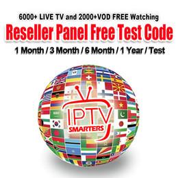Venta al por mayor de 1 3 6 12 meses Suscripción IPTV 7000 + TV en vivo Francés Europa España Portugal Italia Árabe IPTV Holandés Reino Unido Para Android TV BOX m3u mag smart tv