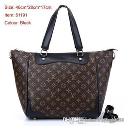 M Style Handbags Australia - 2019 styles Handbag Famous Name Fashion Leather Handbags Women Tote Shoulder Bags Lady Leather Handbags M Bags purse A128