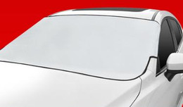 $enCountryForm.capitalKeyWord NZ - Car front windshield coat car cover sun protection, rain proof and heat insulation thickening half cover car half body cover