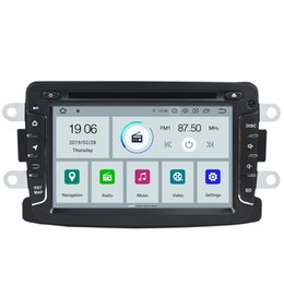 "Tuner Android UK - COIKA 7"" Android 9.0 4-Core Car DVD Multimedia Player For Renault Duster Logan Lada XRAY Symbol Dacia Dokker 2+16G RAM GPS Navi OBD"