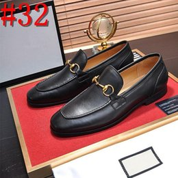 best sell dress NZ - Best selling explosions big designer luxury fashion trend men's casual dress business shoes luxury casual wedding party casual YECQ