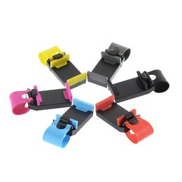 $enCountryForm.capitalKeyWord Australia - Universal Car Steering Wheel Bike Clip Mount Rubber Band Holder For iPhone Samsung for HTC for iPod Mobile Phone Bracket Free Shipping 001