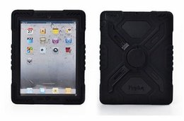 $enCountryForm.capitalKeyWord UK - For iPad 6 Pepkoo Spider case Military Heavy Duty Waterproof Dust Shock Proof tablet Case Plastic + Silicone Stand for ipad air 2 ipad6 2017