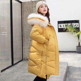 $enCountryForm.capitalKeyWord Australia - 2019 New Arrival Winter Jacket Women Korean Style Hooded Thicken Fur Female Outwear Parka Long Coat Cotton Padded Loose Outwear