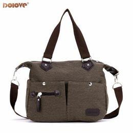Ingrosso 2018 coreano nuove borse moda casual borsa a tracolla tela signora portatile diagonale Messenger Bag # 189990